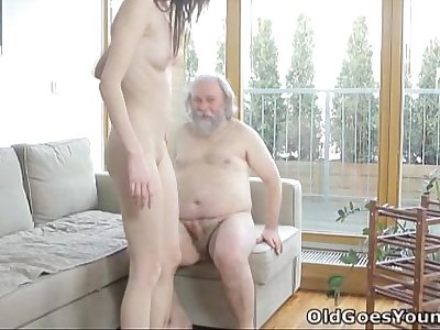 Old Goes Young - Alina didn't think old men could satisfy her