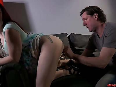 Young Red Head Makes Daddy Jealous - PART 1 (Modern Taboo Family)