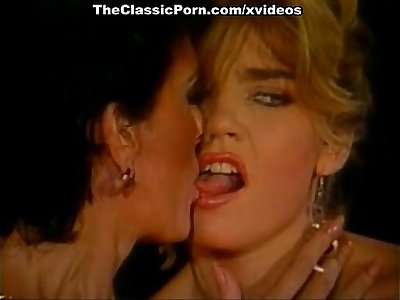 Little Oral Annie, Tom Byron, Gina Carrera in vintage porn video